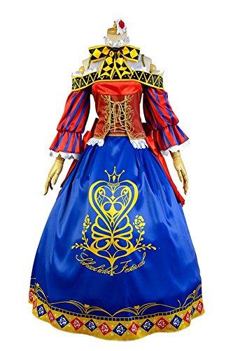 Fuman Love Live! Kotori Minami Magician Uniform Cosplay Kostüm Für Erwachsene Ver. 2 Damen Mehrfarbig (Kostüm Live Kotori Love)