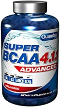Quamtrax Nutrition Suplemento para Deportistas Super BCAA 4.1.1 - 200 Cápsulas
