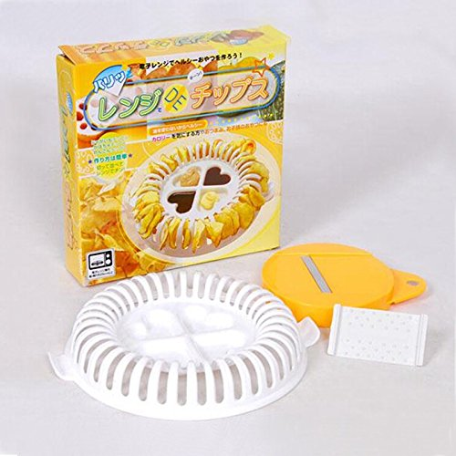 Generic DIY Microwave Potato Chip Maker Vegetable Slicer Crisp Fun Play Food