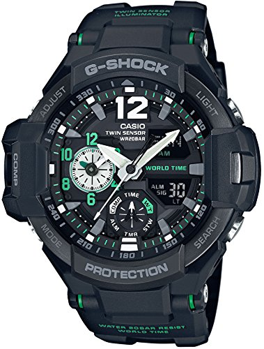 Casio Men's G-Shock Sky Cockpit Ga-1100-1A3Jf Pre-Order ese Model Black