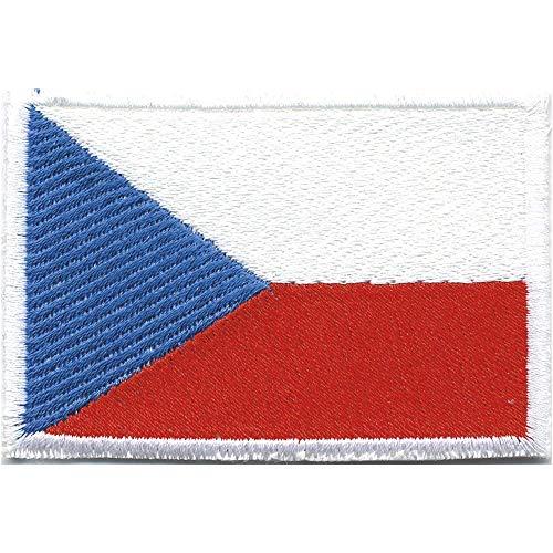 Parche Bordado Parches-República Checa-Talla