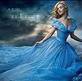 Gorgeous Disney-Aschenputtel Cinderella Kleid Rock-Ballettröckchen Prinzessin Kleid zog großen Erwachsenen -Ausgabe