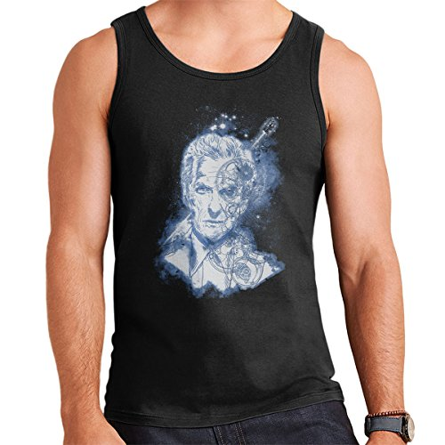 Searching For Gallifrey Doctor Who Men's Vest Black