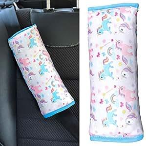 2x Sicherheits-Gurtpolster Autogurtpolster Schulterpolster kind Schlafkissen