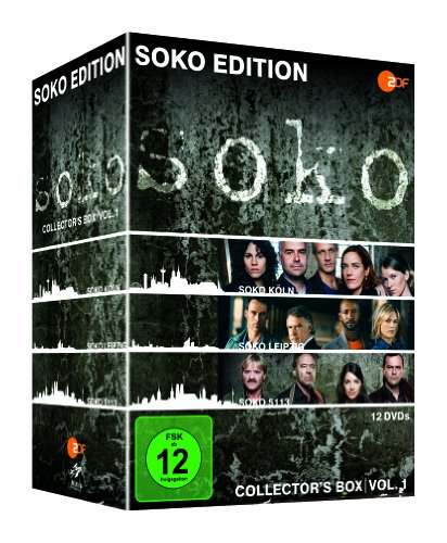 SOKO - Collector's Box Vol. 1 - Soko Edition (12 DVDs)
