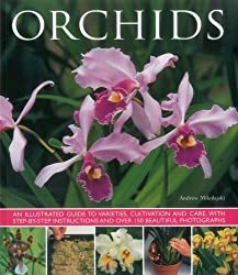 Orchids: An illustrated guide to varieties, cultivation and care, with step-by-step instructions and over 150 stunning photographs by Andrew Mikolajski (2015-10-07)
