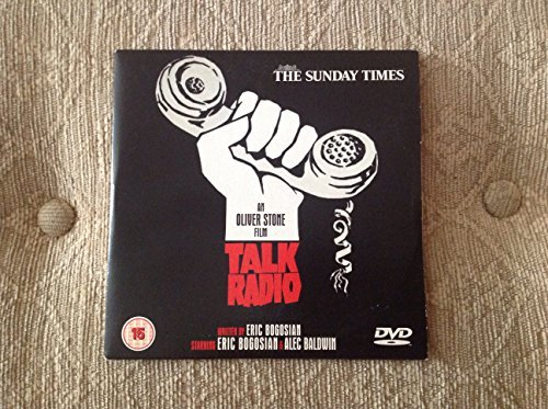 Oliver Stone Film Talk Radio DVD Promotional copy from The Sunday Times in a Cardboard Sleeve (Talk Radio)