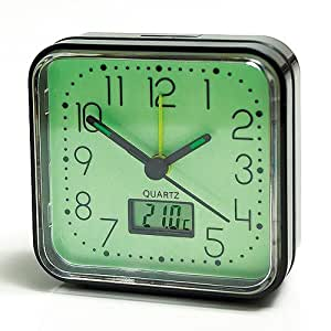 glow in the dark alarm clock kitchen home. Black Bedroom Furniture Sets. Home Design Ideas