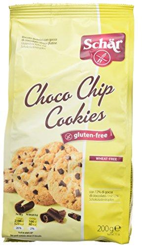 Galletas Choco Chips DR SCHÄR (200 gr)