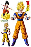 JUNMAO Dragon Ball Z Son Goku Wandaufkleber/Wandbild Aufkleber/Wand Poster/Wandgemälde (B712)