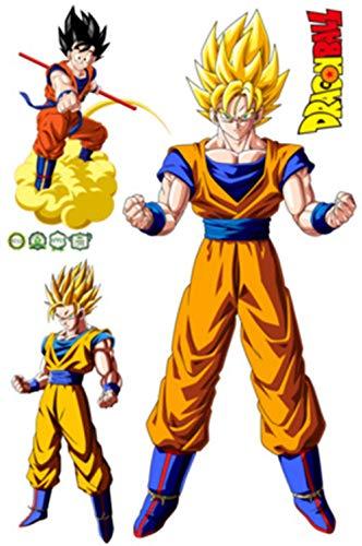 (JUNMAO Dragon Ball Z Son Goku Wandaufkleber/Wandbild Aufkleber/Wand Poster/Wandgemälde (B712))
