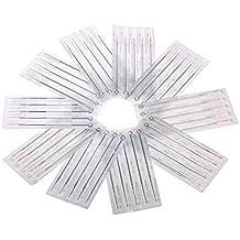 Anself 50ST desechables adhesivo agujas Tatuajes en 5Modelos 1RL 3RL 5RL 7RL 9RL