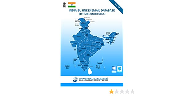 India Business Email Database [10+ Million Records]: Amazon in: Software