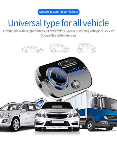 Bluetooth FM Transmitter/Sprachnavigation Broadcast/Bluetooth Freisprechfunktion/Bluetooth-Kompatibilität/Car Wireless/U Disk Playback/Intelligent Detection Voltage Qualcomm Antenne Adapter