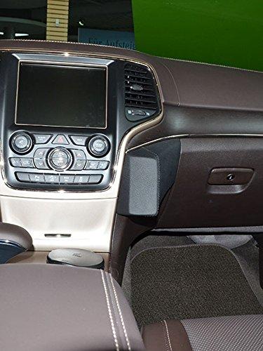 KUDA 1302 Halterung Leder beige/tan (3020) für Jeep Grand Cherokee ab 06/2013 Beige Tan Leder