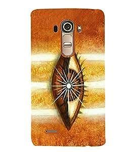 Vishveshwara Shiva 3rd Eye 3D Hard Polycarbonate Designer Back Case Cover for LG G4 :: LG G4 H815