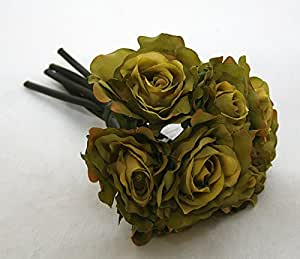 Bouquet Da 7 Rose Singole (Verde)