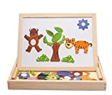 Best Gifts For 2 Year Old Girls - Alytimes Magnetic Puzzle Wooden Animal Travel Easel Dry Review
