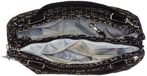 Kipling Damen Caralisa Henkeltasche, 34 x 25 x 11 cm Soft Geo