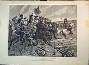 Cavalerie de Ramillies Marlborough d'Armée Britannique de 1893 Batailles