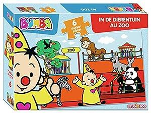 Studio 100 MEBU00003950 Puzzle Puzzle - Rompecabezas (Puzzle Rompecabezas, Juguete, Niños, Niño/niña, Caja, 6 Pieza(s))