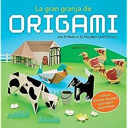 La gran granja de origami: ¡Da forma a 35 figuras divertidas! (incluye 50 hojas de papel) (Ocio y entretenimiento)