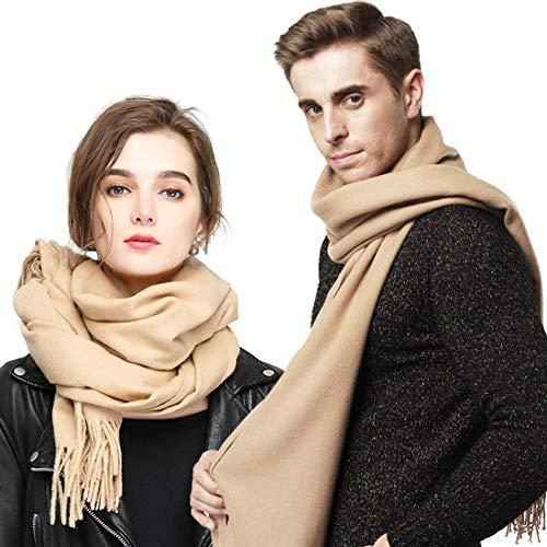 YouShow Winter XXL Schal Damen Kaschmir-Feeling Modeschal Langer Weicher Warmer Modischer Cape Umhang Unifarben