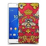 Head Case Designs Kord Und Bienen Gedruckte Patches Und Textilien Ruckseite Hülle für Sony Xperia Z3