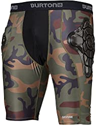 Burton Protecciones Total Impact Short, Protected By G-Form™ Highland Camo S