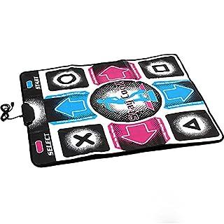 Ainstsk Electronic Musical Playmat Non-slip Dance Pad Musical Play Mat Sensor Zippy Toys PC USB Dancing Mat, Durable Wear-resistant