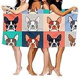 KSIY Boston Terriers - Patrón, diseño de flores