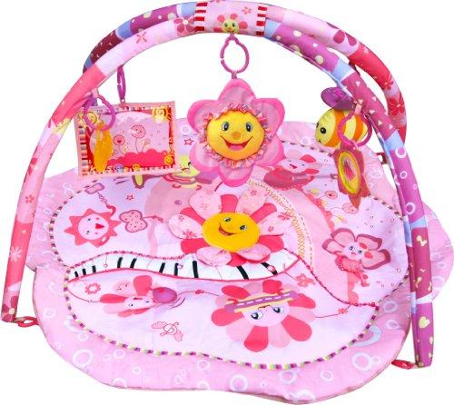 Gimnasio con alfombra musical de juegos y actividades para bebé - Diseño...