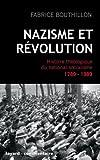 Nazisme et révolution - Histoire théologique du national-socialisme, 1789-1989 (Divers Histoire) - Format Kindle - 9782213664323 - 14,99 €