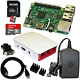 Raspberry Pi 3 Model B Bundle / Starter Set mit Zubehör 32 GB