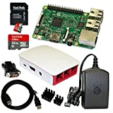 Raspberry Pi 3 Model B Bundle / Starter Set mit Zubehör 32 GB thumbnail