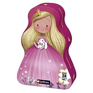 Ravensburger - 86201 - Puzzle Forme - Princesse - 24 Pièces