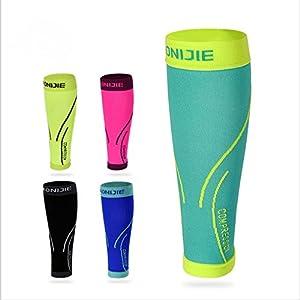 AONIJIE Waden-Kompressionsstrümpfe Ohne Fuß Wadenbandage, Beinlinge, Calf Sleeves für Damen & Herren(1 Paar)