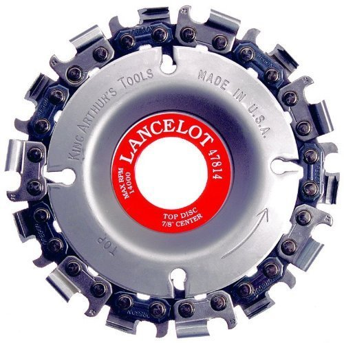 """Price comparison product image King Arthur Tools Lancelot Woodcarving Disc,  14 Teeth,  7 / 8"""" Arbor by KING ARTHUR'S TOOLS"""
