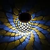 NICEAO LED Night Light, Solar Powered Mosaic Crystal Glass Light Lamp for Garden, Table, Patio, Indoor Party, Christmas Decorations