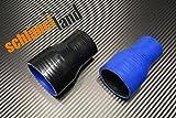 Silikon-Reduzierstück ID 80-57mm schwarz*** Schlauch Reduzierer Reduzierung Silikon