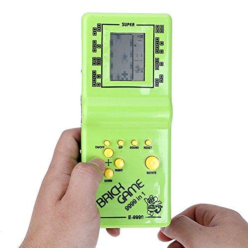 Balai Kinder Mini Konsole Retro Tetris Spiel Handheld Arcade Elektronische LCD Spielzeug Kindheit Brick Spiel (Lcd-konsole)