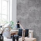 Vliestapete Beton Optik grau Betontapete Industrial Loft Stein Wand 68653