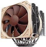 Noctua NH-D14, Dissipatore di calore a doppia torre di qualità premium per CPU  (Marrone)