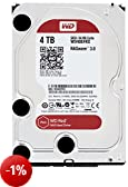 WD Red WD40EFRX Hard Drive per NAS, Intellipower, SATA lll 6 GB/s, 64 MB Cache