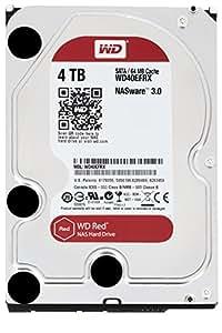 WD 4TB Red interne Festplatte (8,9 cm (3,5 Zoll), 5400rpm, 64MB Cache, SATA) WD40EFRX