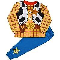 Disney Boys Toy Story Woody Pyjamas Fancy Dress Size 18 Months to 6 Years