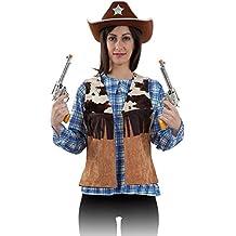 Vaquera mujer disfraz