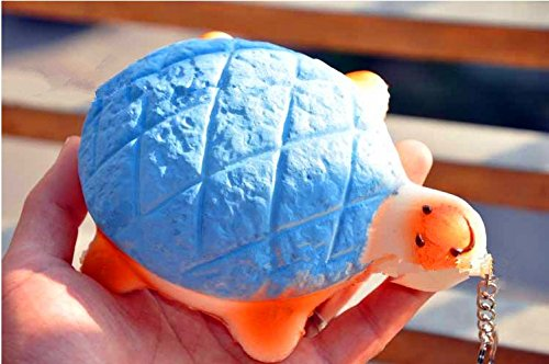 Big Size Jumbo Soft Cute Turtle Melon Pan Bun Squishy