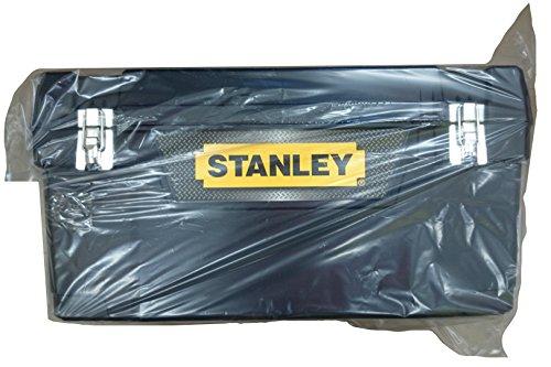 Stanley Werkzeugbox Metall Latch 25″, gummierte Metallschließen, ergonomischer Komfortgriff, Organizer, 1-94-859 - 5