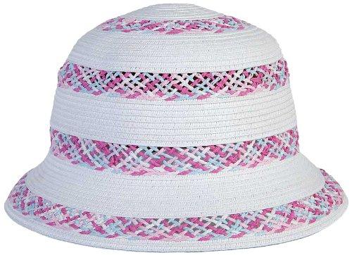 WDK Partner - A1301054 - Déguisement - Chapeau Fille - Rose/Blanc - Dia 25